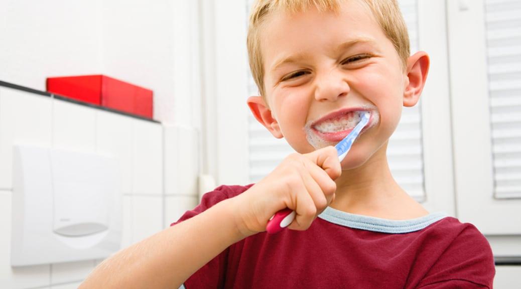 Bambini: lo spazzolino