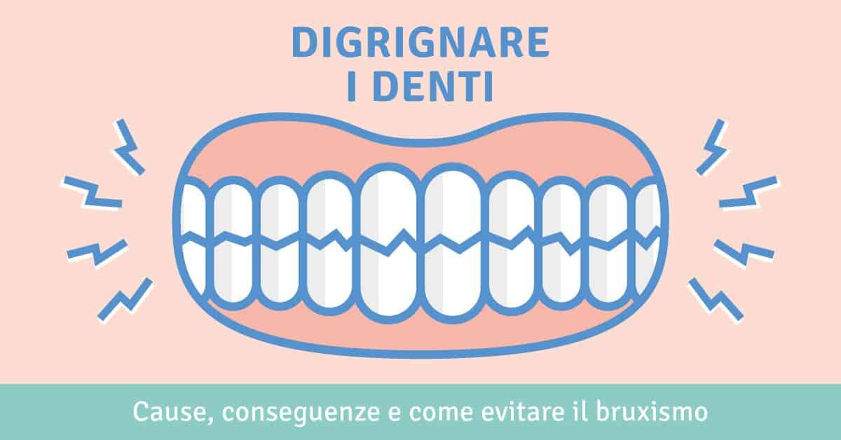 Digrignare i denti: cause, conseguenze e come evitare il bruxismo