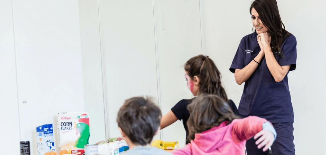 corso igiene orale bambini